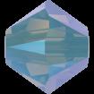 Biconic Swarovski 3 mm - Pacific Opal Shimmer 2X