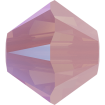 Biconic Swarovski 3 mm - Rose Water Opal Shimmer