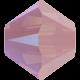 Biconic Swarovski 4 mm - Rose Water Opal Shimmer