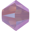 Biconic Swarovski 4 mm - Rose Water Opal Shimmer 2X