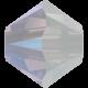 Biconic Swarovski 6 mm - White Opal Shimmer