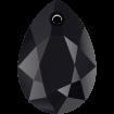Pandantiv Pear Cut 16 mm - Jet