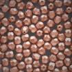 Fire polish 6 mm - Matte Met Copper