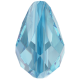 Drop Bead 9 x 6 mm - Aquamarine