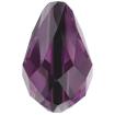 Drop Bead 9 x 6 mm - Amethyst